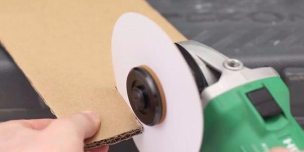 Kağıttan bıçak üretti!