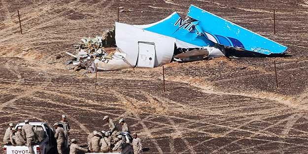 Kahire: Mısır'da düşürülen Rus yolcu uçağında terör bulgusuna rastlanmadı