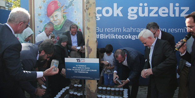 """""""Kahramanlarımız göğüslerini siper ettiler, 6 şehit verdiler ama Türk Telekom'u vermediler"""""""