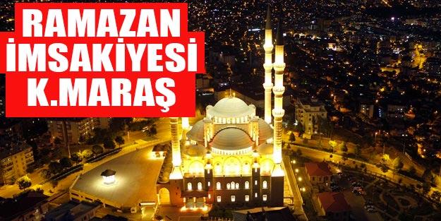 Kahramanmaraş imsakiye 2019 Kahramanmaraş iftar vakti 2019