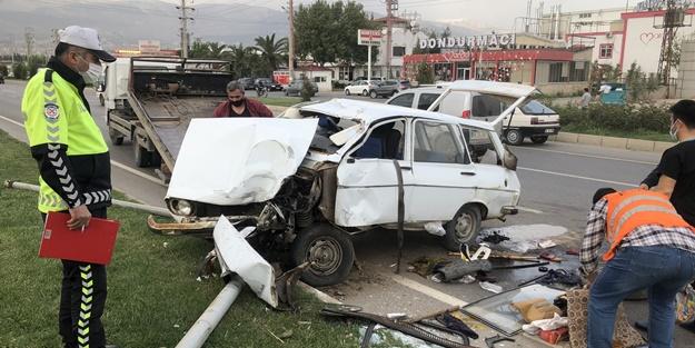 Kahramanmaraş'ta feci kaza: Yaralılar var