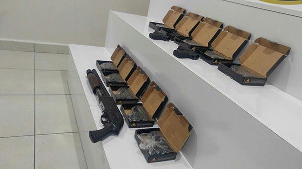 Kahramanmaraş'ta silah kaçakçılığı operasyonu: 1 gözaltı