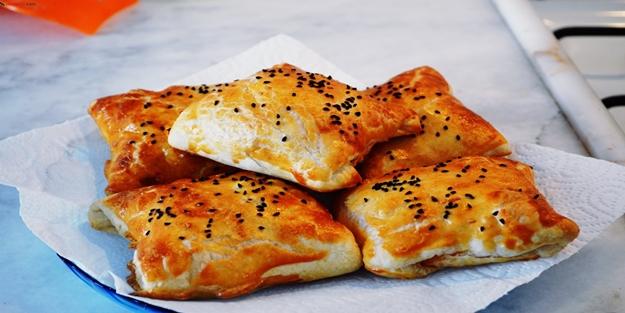 Kahvaltılık çıtır börek