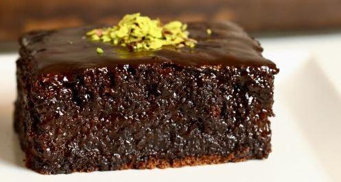 Kakaolu ıslak kek browni | Kolay ıslak kek tarifi