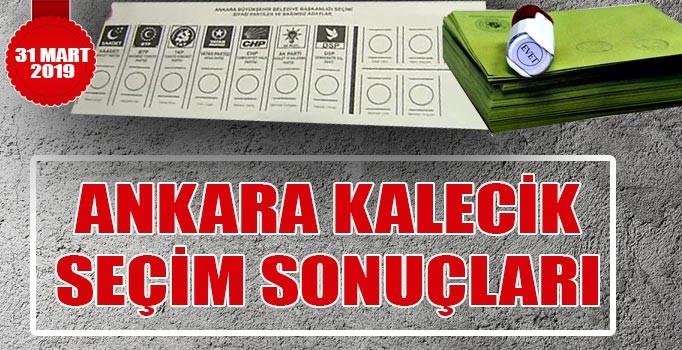 Kalecik seçim sonuçları 2019 | 31 Mart Ankara Kalecik belediye seçim sonuçları oy oranları
