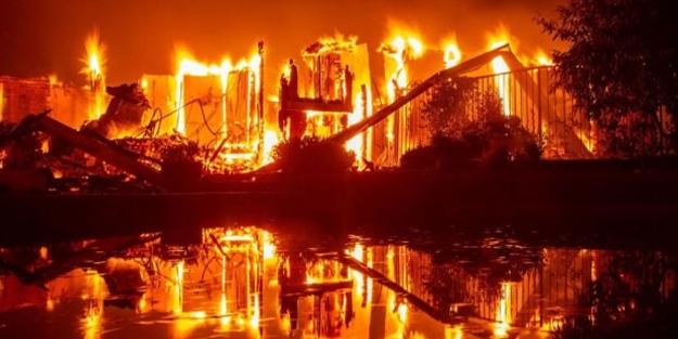 Kaliforniya cayır cayır yanıyor! OHAL ilan edildi