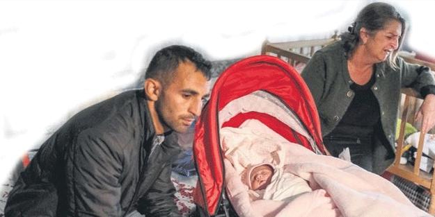 Kalleş Ermenistan 22 günlük bebeği öksüz bıraktı