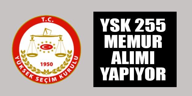 Kamu alımları YSK memur alımı başvuru şartları