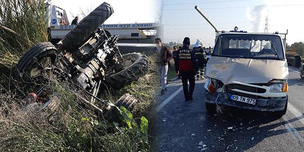 Kamyonetle traktör çarpıştı! Feci kazada ölü ve yaralılar var