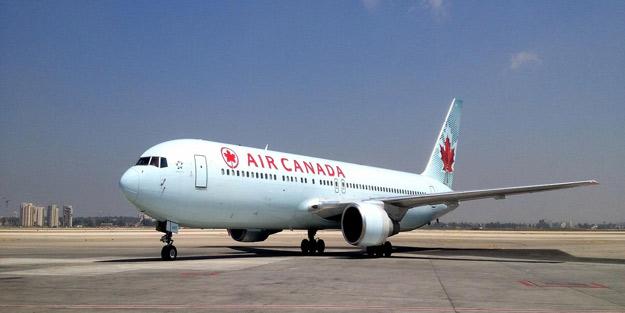 Kanada'da bir kadın yolcu uyuyakaldığı uçakta unutuldu