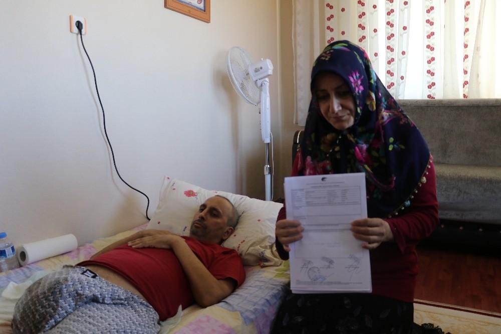 Kanser hastası adam yardım bekliyor