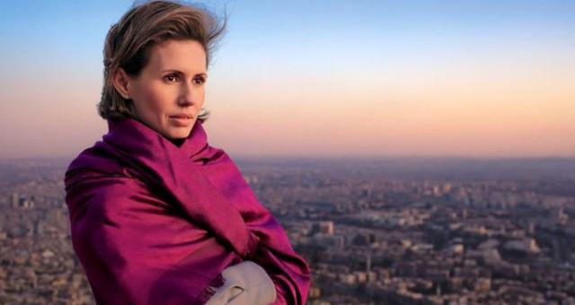 Katil Esed'in kansere yakalanan eşi Esma Esed'den pişkin mesaj