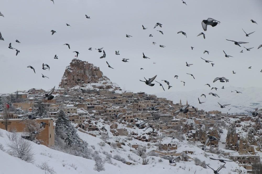 Kapadokya bölgesini Ocak ayında 159 bin 245 turist ziyaret etti