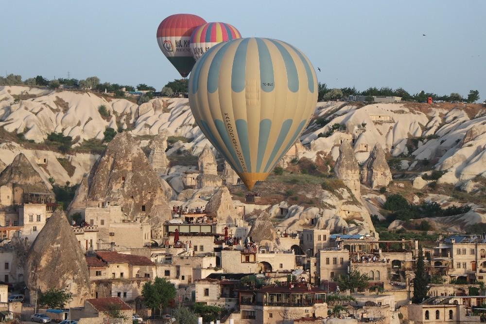 Kapadokya son 6 yılın turist rekorunu kırdı
