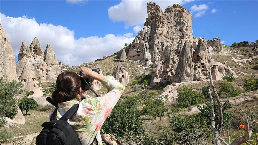 Kapadokya ziyaretci sayısında rekora koşuyor