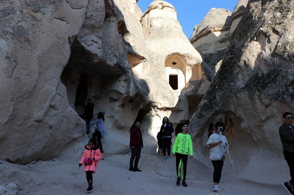 Kapadokya'da müze ve ören yerleri kapatıldı