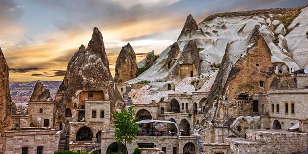 Kapadokya'dan kış görüntüleri Kapadokya'da kış nasıl geçer? Kapadokya'da kışın görülmesi gereken yerler