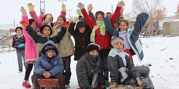 Kar nedeniyle okulların tatil olduğu iller