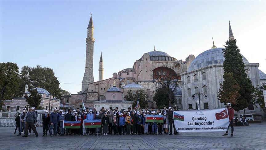 Karabağ Savaşı'nın yıl dönümünde İstanbul'da anma etkinliği düzenlendi