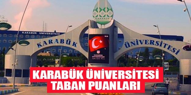 Karabük Üniversitesi taban puanları 2019 YÖK atlas