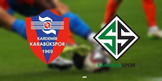Karabükspor Sakaryaspor maçı ne zaman? Maç saat kaçta hangi kanalda?