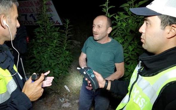 Karabük'te ikinci defa alkollü yakalan sürücü polise bakın ne dedi?