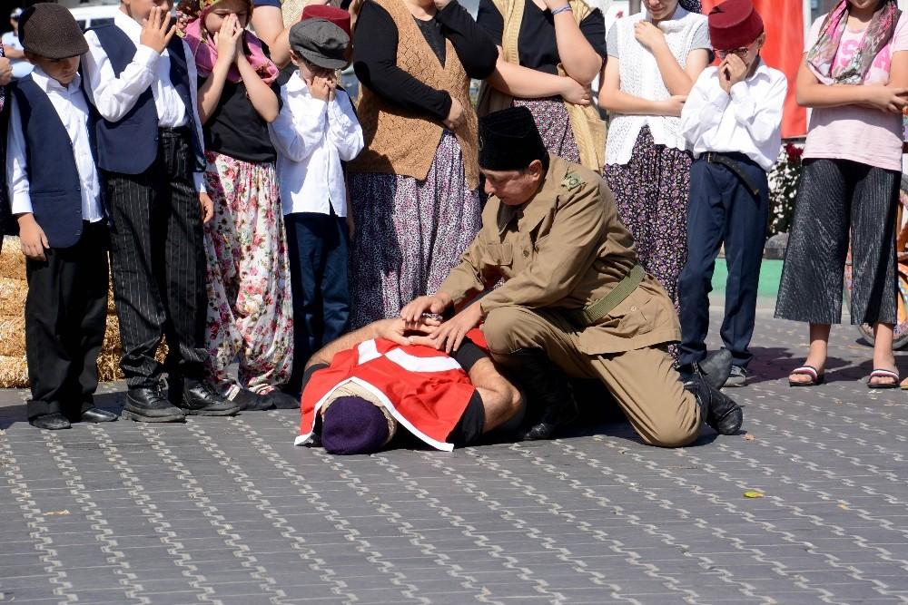 Karacabey'in düşman işgalinden kurtuluşunun 97. yılı törenlerle kutlandı
