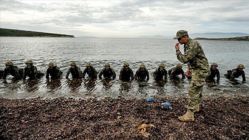 Karada ve suda düşmanın korkulu rüyası: Amfibi deniz piyadeleri