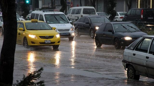 Karadeniz'e yağmur uyarısı