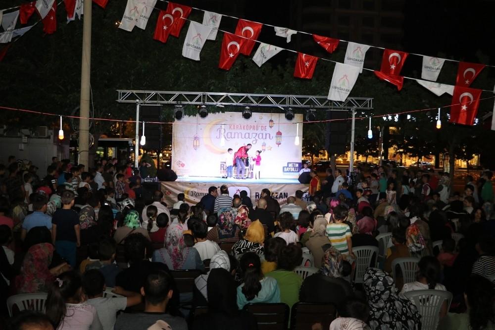 Karaköprü'de vatandaşlar etkinlikte doyasıya eğlendi