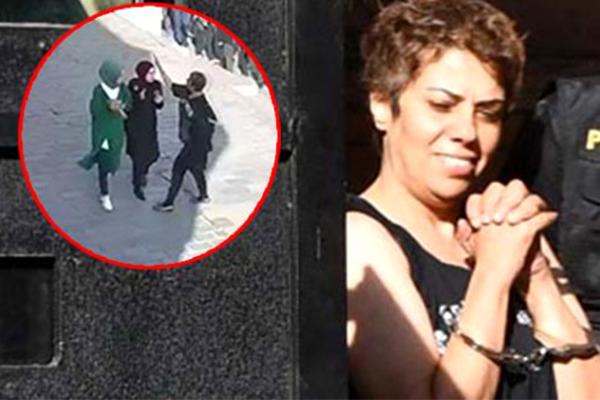 Karaköy'de başörtülü 2 öğrenciye saldıran kadın için istenilen ceza belli oldu