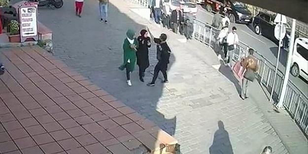 Karaköy'de başörtülü kızlara saldırı davasında skandal savunma!