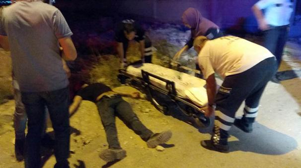 Karaman'da dehşet! Sokakta yürürken 11 yerinden bıçaklandı