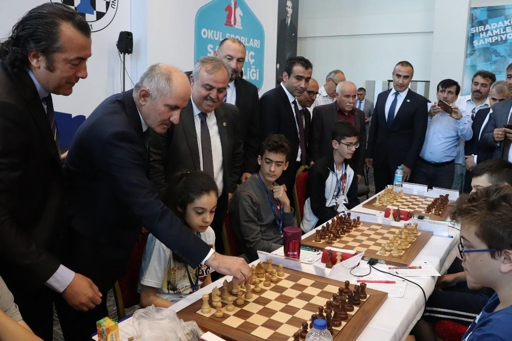 Karaman'da Okullararası Satranç Türkiye Birinciliği Finali başladı
