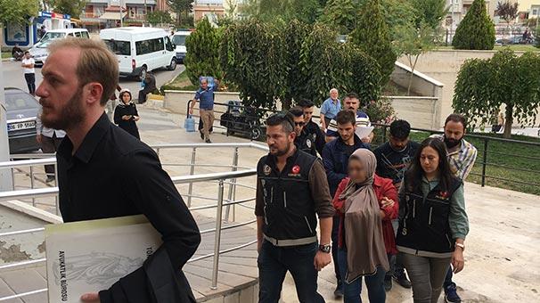 Karaman'da torbacı sevgililere uyuşturucu baskını