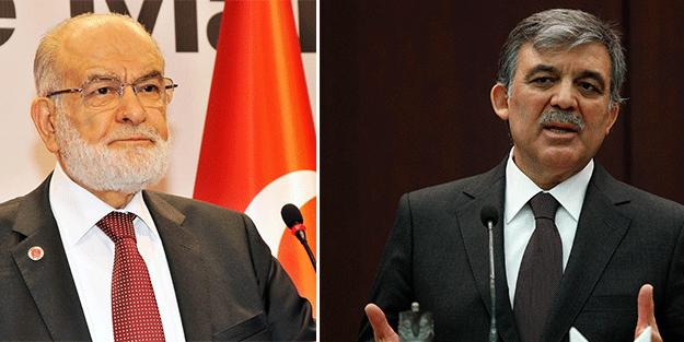 Karamollaoğlu'ndan 'Abdullah Gül' açıklaması: Adaylığında...