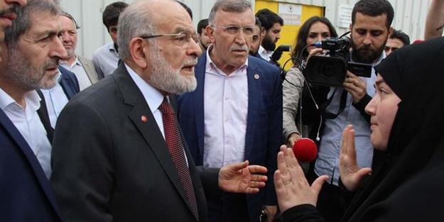 Karamollaoğlu'ndan tepki gösteren şehit eşine şok 'yalancı' ithamı: AK Parti seçmeni...