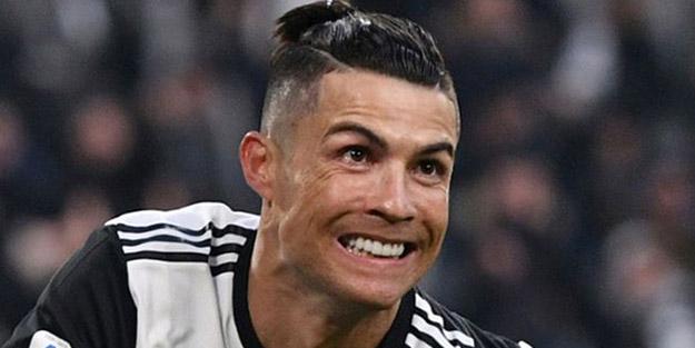 Karantinadaki Ronaldo'dan dikkat çeken görüntüler