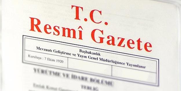 Kararlar Resmi Gazete'de yayımlandı