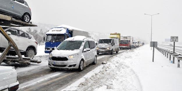 Bugün hangi yollar kapalı veya açık 24 Ocak Perşembe