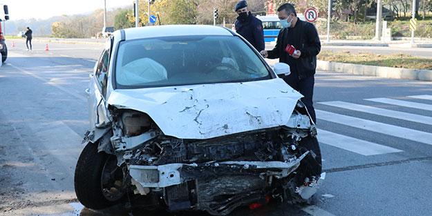 Karayolunda zincirleme trafik kazası! Yaralılar var