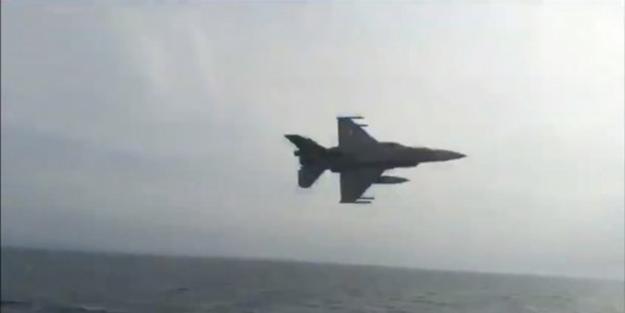 Kardak olayının yıl dönümünde F-16'lar havalandı!