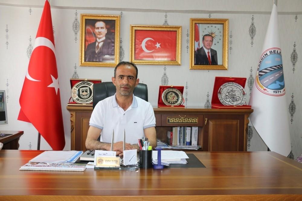 Kargın Belediye Başkanı Zafer Kaya, 15 ayı değerlendirdi