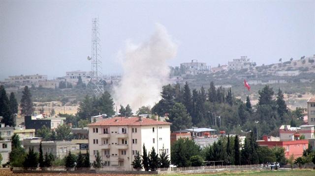 Karkamış'ta şiddetli patlama
