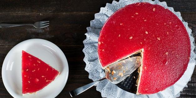 Karpuzlu cheesecake