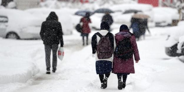 Kars'ta yarın 17 Şubat Pazartesi okullar tatil edilecek mi? Sarıkamış, Kağızman, Digor, Akkaya kar tatili