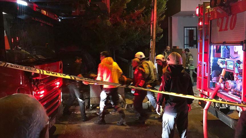 Kartal'da yangında 1 kişi öldü, 5 kişi yaralandı