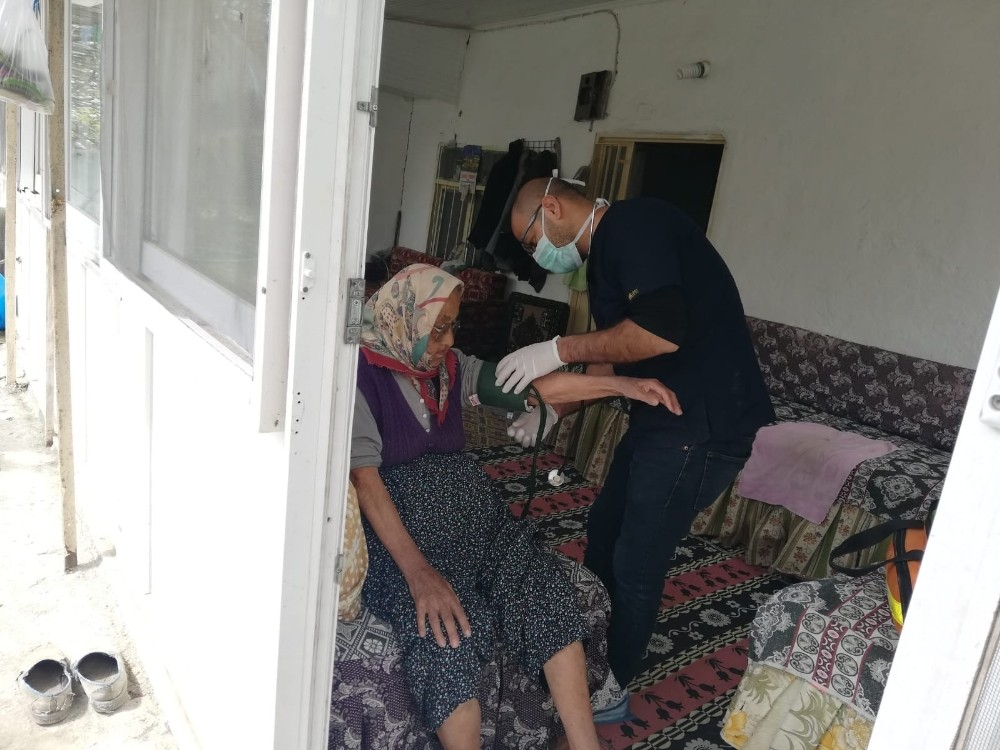 Kaş Belediyesinden evde sağlık hizmeti