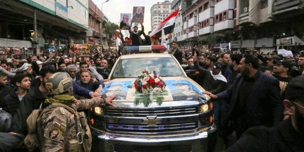Kasım Süleymani'nin cenazesindeki o isim dikkat çekti