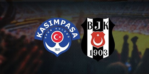 Kasımpaşa Beşiktaş maçı ne zaman, saat kaçta, hangi kanalda?